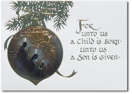 religious christmas cards - Religious Christmas Cards