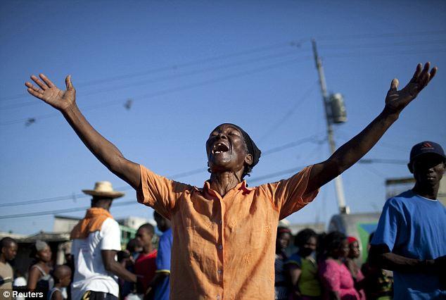 Haiti pray